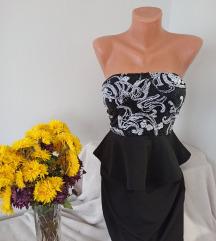 Top haljina sa sljokicama vel S