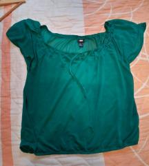 Zelena lagana majica