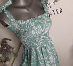Mint sa cveticima haljina