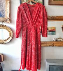 Vintage haljina na tufne