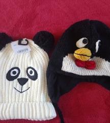 Panda kapa NOVA + pingvin kapa vuna