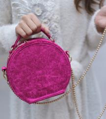 Nova pink plišana torba