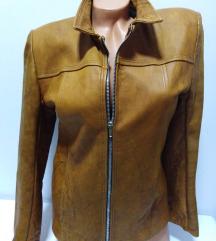 Kožna jakna prirodna fina mekana 100%koža M