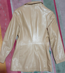 Mexx KOZNI mantil SAKO - kozna jakna kamel boje