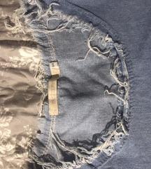 Teksas iscepana haljinica ili majica