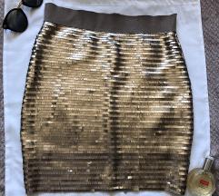 ORSAY NOVA sljokicasta suknja S sa etiketom