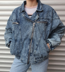 Vintage teksas jakna L/XL