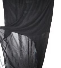 Asimetricna crna suknja