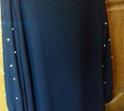 Crna svečana haljina/ novo