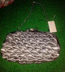 ❤️NOVA H&M siva torbica prelepa RASPRODAJA❤️