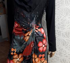 DESIGUAL tegljiva haljina koncane rese kao NOVA