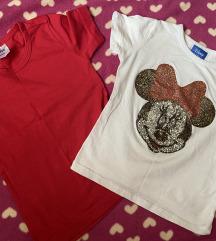 Majice za devojcice mini mouse 3-4