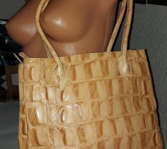 NOVA exkluzivna damska bež torba pojam elegancije
