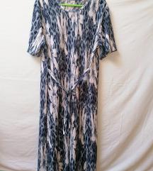 Lagana rebrasta midi haljina XL