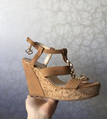 SNIZENJE 1700 🔥Prelepe braon zlatne sandale