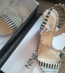 NINE WEST kožne sandale 38