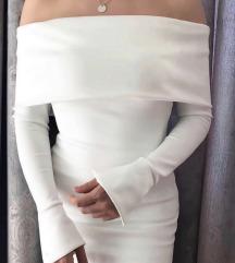 Bela haljina od skube