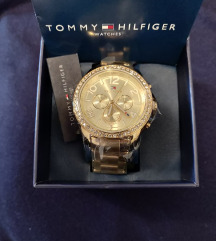 Tommy hilfiger gold sat sa cirkonima