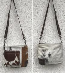 Unikatna torba od prorodne koze i dlake