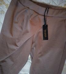 Pantalone-helanke boje kafe, hit model NOVO
