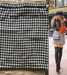 Zimska pepito suknja