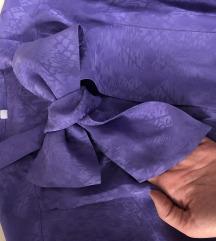 Lila svilena kosuljica