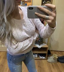 H&M rozi dzemper