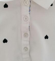 Majica sa srcima M velicina