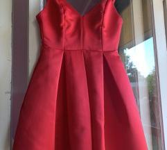 Svecana crvena haljina nenosena