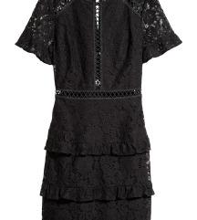 SNIZENJE!!!H&M cipkana haljina kao nova