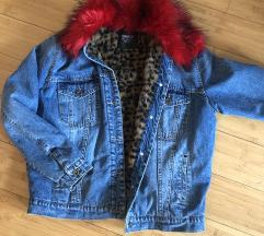 SNIZENO 3500 Only teksas jakna sa postavom