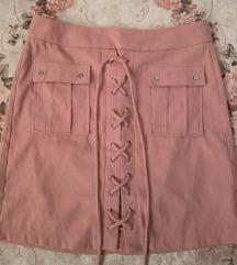 Puder roze suknjica