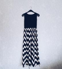 Rezervisano BW duga haljina