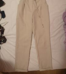 Kala fashion krem-bež pantalone