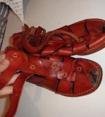 Španske ručno rađ. kožne sandale