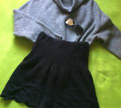 Pletena suknjica