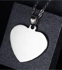 Fashion ogrlica srce