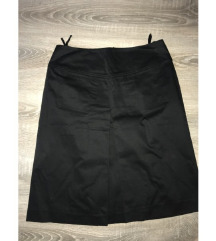 Suknja crna do kolena NOVO vel. 38