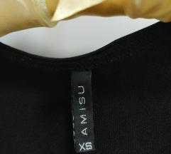 Crna majica Amisu New Yorker