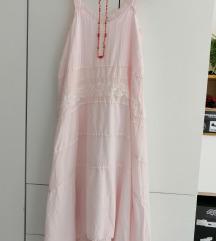 LAUREN VIDAL🌺🤍baby pink rustik haljina