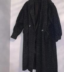 Vintage dugacak kaput 116cm/117cm