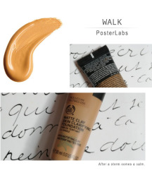 THE BODY SHOP Matte clay Foundation ORIG