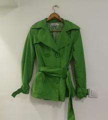 Zara zeleni mantil