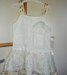 Lanena haljinica za 3 godine