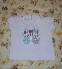 Majica za bebe Miki i Mini 18-24mes. ili 86/92