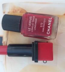 Chanel ruz i lak samo