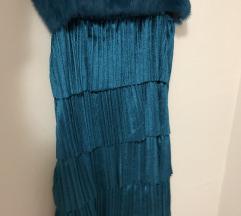 Haljina sa krznom