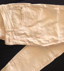 Zenske svetlo roza pantalone