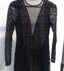 Crna NOVOGODIŠNJA haljina