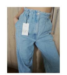 ZARA paperbag jeans-SAMO DANAS 1800 DINARA!!!